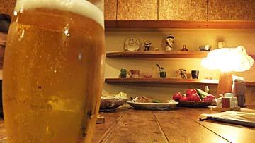 ビールをいただくのです