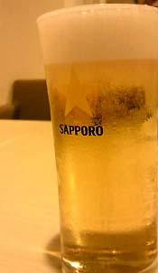 やっぱりサッポロビールなのです