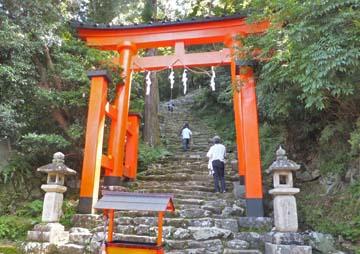 これが神倉神社です!