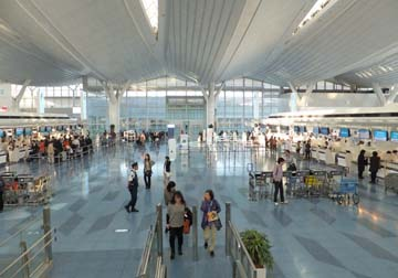 羽田空港は便利だね!
